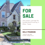 Cumberland Crossing Homes for Sale Allen Texas