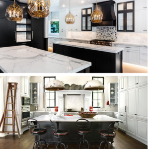 Classic Glam Updated Lines Versus Bulky Industrial Pendant Lighting